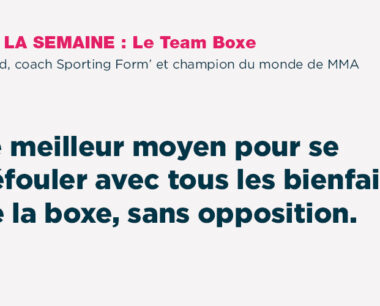 Team Boxe - Sporting Form'